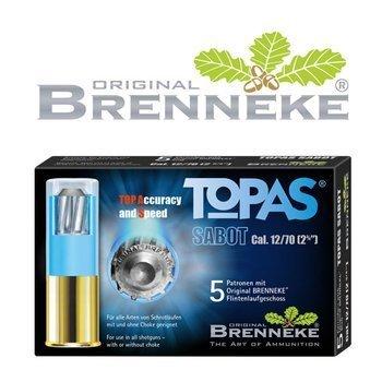 Amunicja 12/70 Brenneke TOPAS Sabot 20g (5szt)
