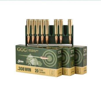 Amunicja .308 Win GGG HPBT 12,31g/190gr (20 szt.)