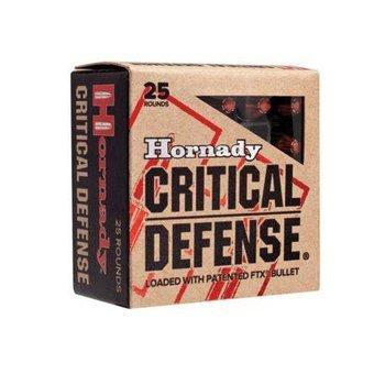 Amunicja .38 Special Hornady FTX +P Critical Defence 7,13g/110gr (25 szt.)