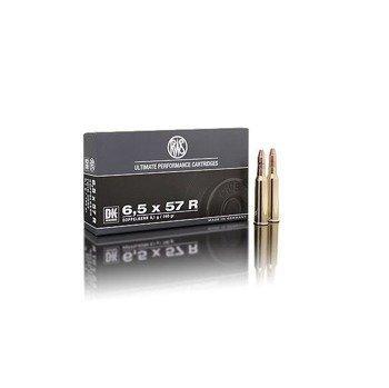 Amunicja 6,5x57R RWS Twin Core 9.1g/140gr (20 szt.)