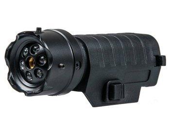 Celownik laserowy na RIS 22mm z wbudowaną latarką Action Sport Games