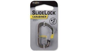 Karabińczyk Nite Ize SlideLock Carabiner #2 - czarny