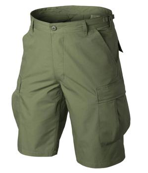 Krótkie Spodnie Helikon BDU Rip-Stop - Olive Green