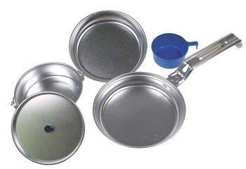 Menażka MFH - aluminiowy zestaw kempingowy