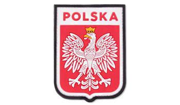Naszywka 3D Polska - herb kolor 101 Inc.