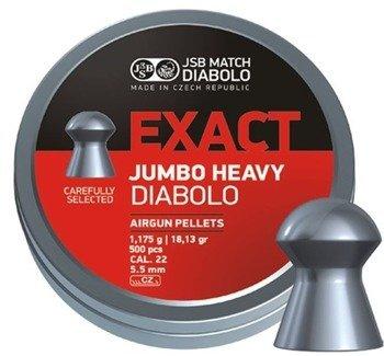 Śrut 5,52 Exact JSB Jumbo Heavy (250 szt.)