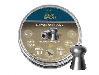 Śrut diabolo H&N Baracuda Hunter 4,5mm 400 szt.