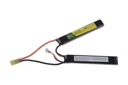 Akumulator LiPo 7,4V 2600mAh 20C - 2 modułowy