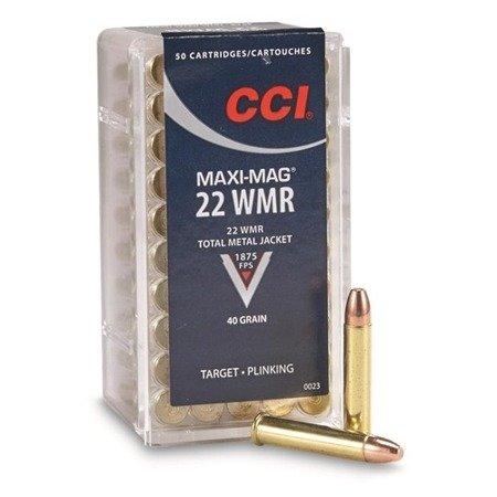 Amunicja .22 WMR CCI FMJ 2,59g/40gr (50 szt.)