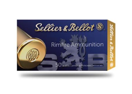 Amunicja .22LR S&B Standard LRN 2,56g/40gr (50 szt.)