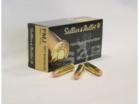Amunicja .357 Magnum S&B FMJ 10.25g/158gr (50 szt.)