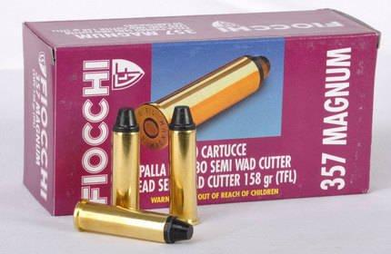 Amunicja 357Mag Fiocchi LSWC 10,24g/158gr (50 szt)