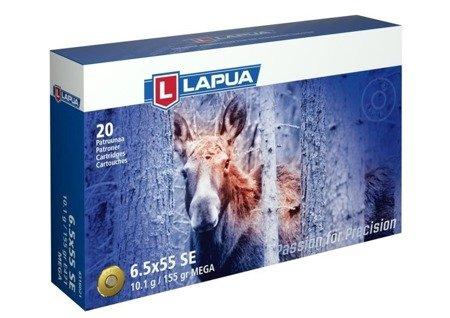 Amunicja 6,5x55SE Lapua Mega SP 10.1g/155gr (20 szt.)