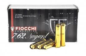 Amunicja 7,62x38R Nagant Fiocchi FMJ 6,4g/98gr (50 szt.)