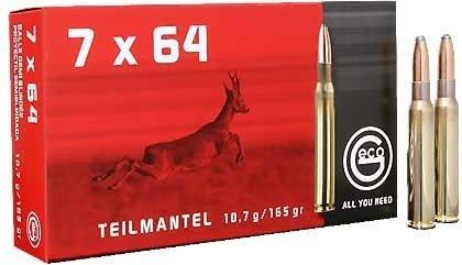 Amunicja 7x64 GECO Teilmantel 10,7g/165gr (20 szt.)