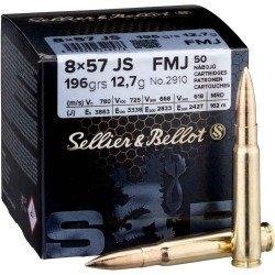 Amunicja 8x57JS S&B FMJ Training 12.7g/196gr (50 szt.)