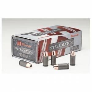 Amunicja 9x19 Hornady HAP Steel Match 8,1g/125gr (50 szt.)