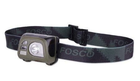 Latarka czołowa Tactical Headlamp FOSCO 140 lumenów - zielony OD