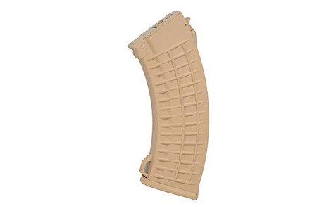 "Magazynek hi-cap 500 kulek ""Waffle"" do AK47 - tan"