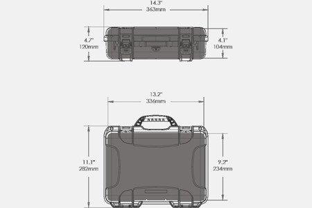 NANUK 910 DJI™ OSMO Oliwkowy
