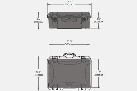NANUK 940 DJI™ RONIN-M Oliwkowy