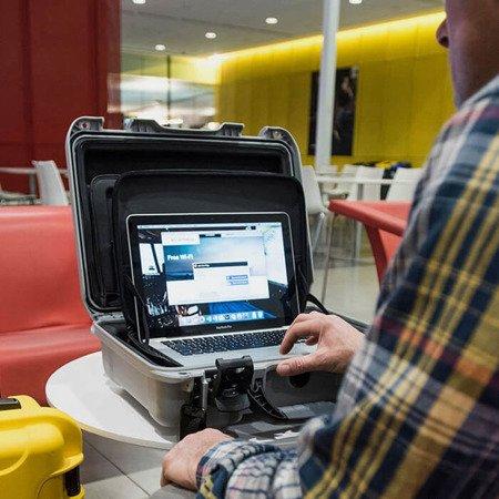 Nanuk 923 Laptop Żółta