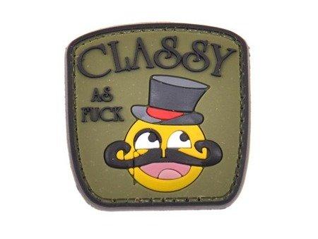 Naszywka Classy as F**k