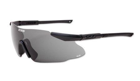 Okulary balistyczne ESS Ice One Smoke Gray - przyciemniane