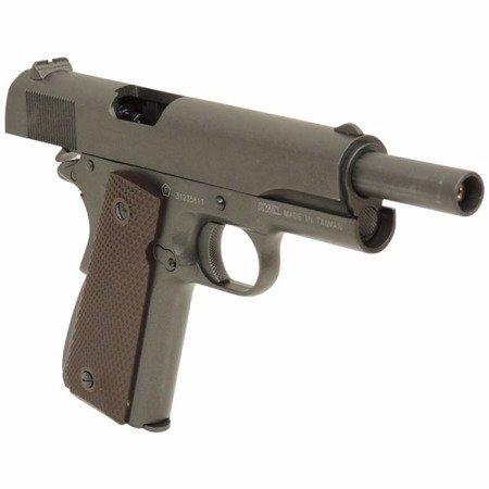 Pistolet CO2 Swiss Arms P1911 4,5 mm blow-back