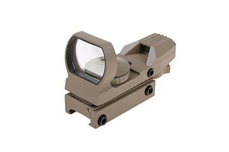 Replika celownika kolimatorowego Theta Optics Open - tan