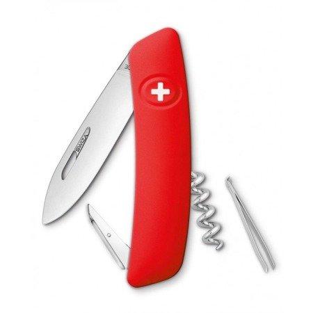 Scyzoryk szwajcarski Swiza D01 Czerwony 95mm