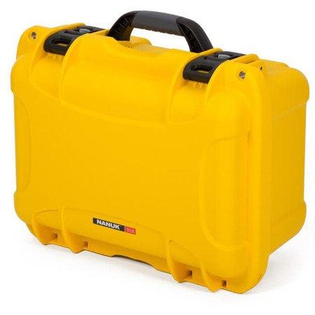 Skrzynia transportowa Nanuk 918 żółta - bez wypełnienia
