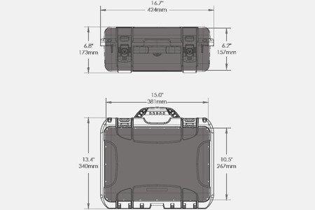 Skrzynia transportowa Nanuk 920 DJI™ MAVIC oliwkowa