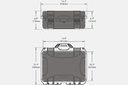 Skrzynia transportowa Nanuk 920 DJI™ MAVIC żółta