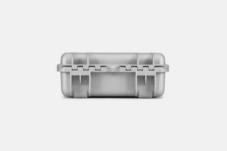 Skrzynia transportowa Nanuk 920 srebrna - wkład modułowy FOTO
