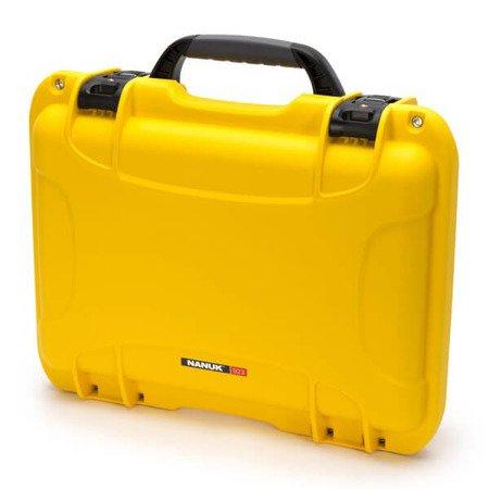 Skrzynia transportowa Nanuk 923 żółta - wkład modułowy FOTO