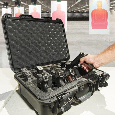 Skrzynia transportowa Nanuk 925 srebrna - 4UP Pistol