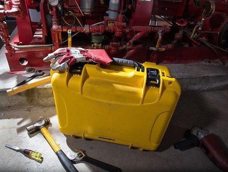 Skrzynia transportowa Nanuk 933 PRO PHOTO KIT żółta