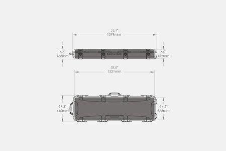 Skrzynia transportowa Nanuk 995 Oliwkowa - pianka na zamówienie