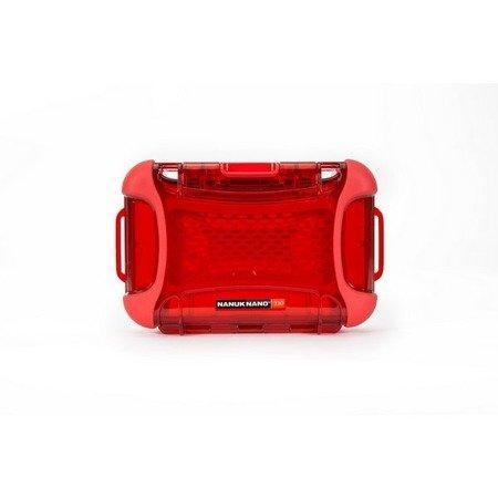 Skrzynia transportowa Nanuk Nano 330 czerwona