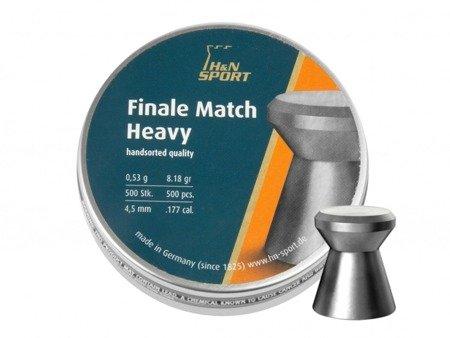 Śrut diabolo H&N Finale Match Heavy 4,5 mm 500 szt.