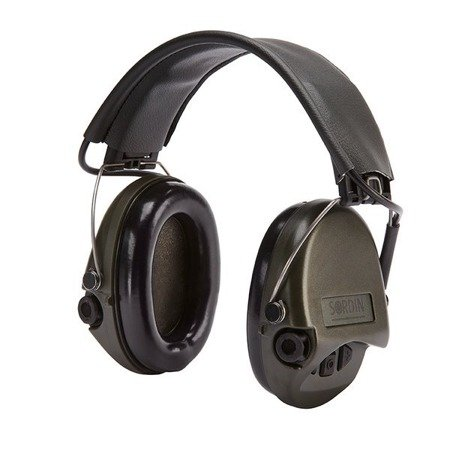 Ochronniki Słuchu Sordin Supreme Basic - zielone