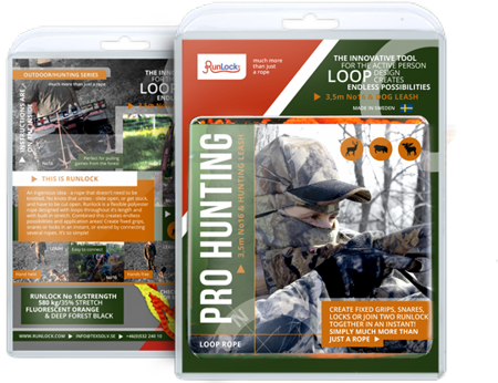 Zestaw lin Runlock Pro Hunting